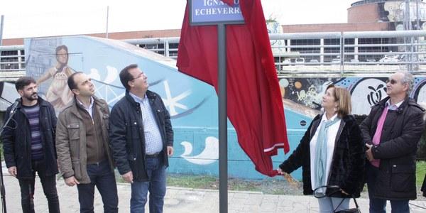 Nueva denominación de la pista ubicada junto a Plaza de Armas: Skate Park Ignacio Echeverría