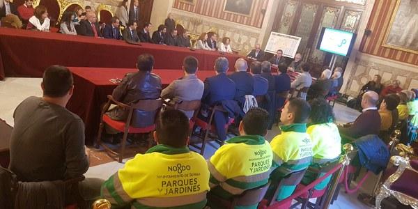 El Ayuntamiento inicia el 1 de marzo el nuevo modelo de gestión del arbolado y zonas verdes con 117 nuevas contrataciones y 14,3 millones de euros de presupuesto anual