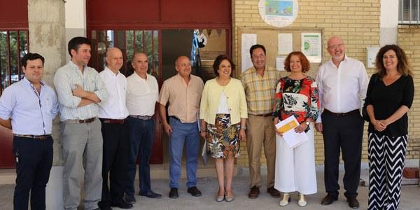 El Ayuntamiento inicia el mes de julio con 13 proyectos de reformas en colegios en marcha con una inversión de casi  dos millones de euros