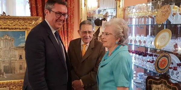 El Ayuntamiento inicia el traslado de las obras donadas a la ciudad por Mariano Bellver a la Casa Fabiola donde en octubre abrirá el museo