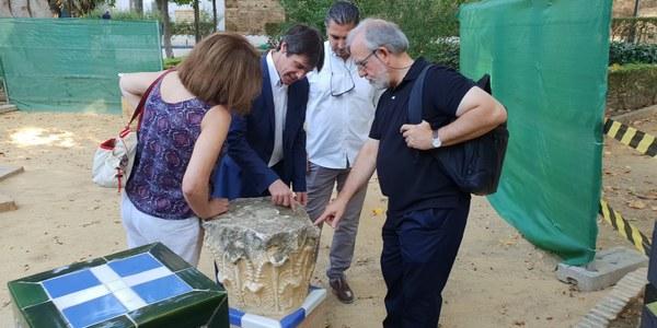 El Ayuntamiento inicia la restauración y reposición de elementos artísticos en los Jardines de Murillo con  48.000 euros de presupuesto