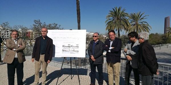 El Ayuntamiento inicia las obras para la reurbanización e instalación de nuevo mobiliario urbano en el Paseo Colón