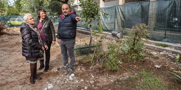 El Ayuntamiento inicia los trabajos para la reurbanización de la Plaza de la Debla en el Distrito San Pablo-Santa Justa