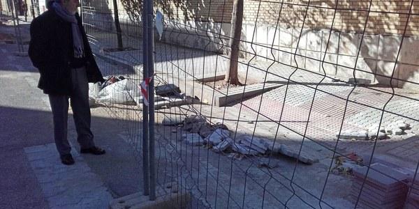 El Ayuntamiento inicia obras de mejora en las calles  Salvador Távora, del barrio  del Cerro, Ana Valencia Vilches, en Las Águilas, y Chucena, de La Negrilla