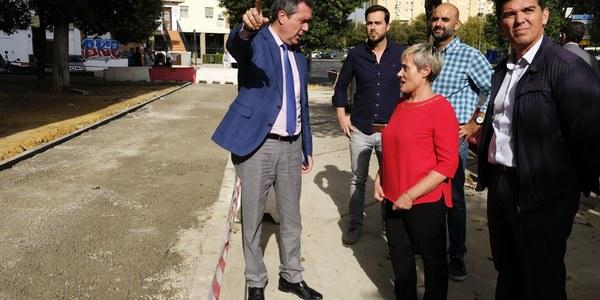 El Ayuntamiento invierte más de 2,5 millones de euros en el Distrito San Pablo-Santa Justa en obras de reurbanización, mejora de viales y eliminación de barreras arquitectónicas