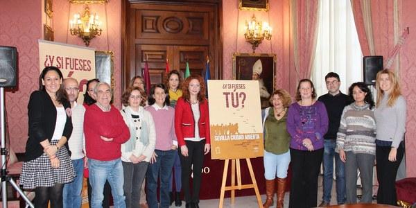 El Ayuntamiento lanza la campaña '¿Y si fueses tú? Sevilla Ciudad Abierta' de sensibilización con las personas solicitantes de asilo, refugiadas, apátridas, migrantes vulnerables y minorías musulmanas