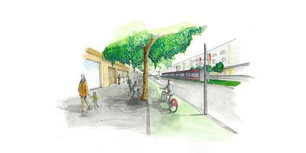 El Ayuntamiento obtiene  la Declaración Ambiental Estratégica favorable de la Junta  de Andalucía que avala el Plan Especial para la ampliación del Metrocentro hasta Santa Justa