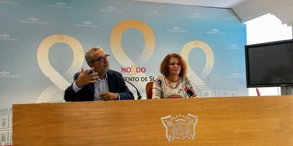El Ayuntamiento pone en marcha la reforma del antiguo pabellón de Telefónica del Parque de María Luisa para habilitar un centro de formación y empleo en paisajismo y agroecología
