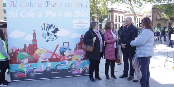 El Ayuntamiento pone en marcha una campaña con el objetivo de  promover el uso de la bicicleta para ir al colegio y los caminos escolares seguros