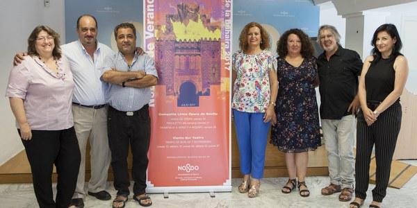 (11/07/2017) El Ayuntamiento programa 8 funciones y 1.600 entradas gratuitas en el ciclo 'Noches de Verano en el Palacio de la Buhaira'