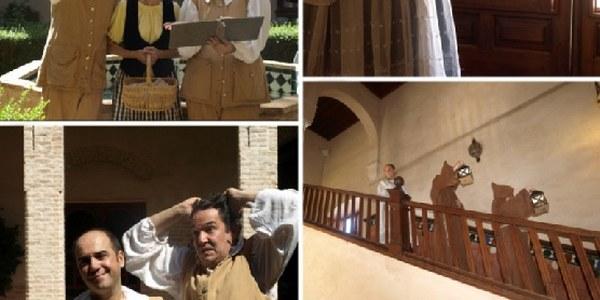 El Ayuntamiento programa visitas teatralizadas gratuitas al Palacio de los Marqueses de la Algaba a partir del próximo domingo