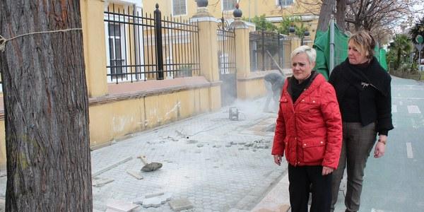 El Ayuntamiento realiza el proyecto de obras para mejorar las aceras y los parterres de Eduardo Dato incluido en el programa participativo 'Mejora tu Barrio'