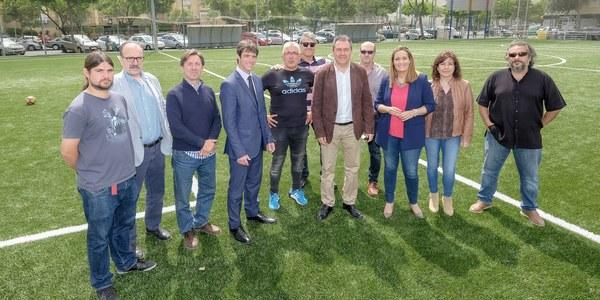 El Ayuntamiento realiza inversiones por un importe de más de 2 millones de euros en 11 campos de fútbol de césped artificial