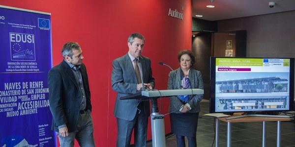 El Ayuntamiento rehabilitará las naves de Renfe con un diseño eficiente y sostenible para sea sede de iniciativas de emprendimiento e innovación
