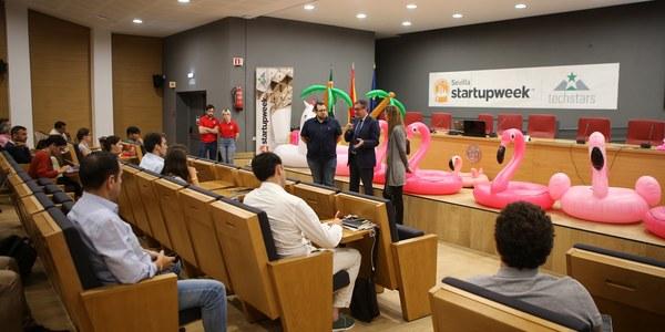 El Ayuntamiento respalda el evento 'Sevilla Startup Week' como cita de emprendedores  para fortalecer el ecosistema  de innovación en la ciudad
