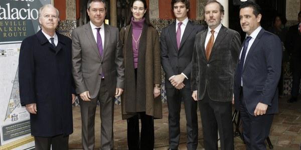 El Ayuntamiento respalda la creación de una red de casas palacio en Sevilla como impulso a la oferta patrimonial de la ciudad y al turismo de calidad