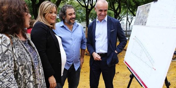 El Ayuntamiento reurbaniza la calle Leñadores de Pino Montano con un proyecto que mejora itinerarios peatonales y alumbrado y garantiza la accesibilidad