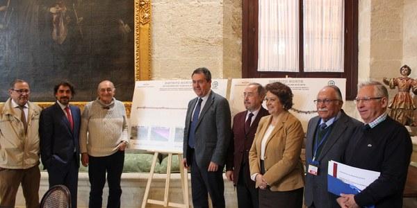 El Ayuntamiento reurbanizará y eliminará barreras arquitectónicas de la calle Automoción del parque empresarial Calonge y la calle Nivel de Store con una inversión de 5,7 millones de euros
