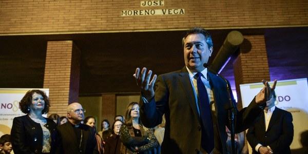 El Ayuntamiento rotula  como Párroco José Moreno Vega un paseo de Sevilla Este en un homenaje al sacerdote avalado por cientos de  firmas de vecinos y vecinas