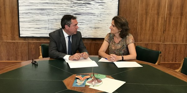El Ayuntamiento y el Ministerio para la Transición Ecológica avanzan en un plan de inversión de 100 millones de euros para mejorar y reordenar el sistema de depuración de aguas residuales
