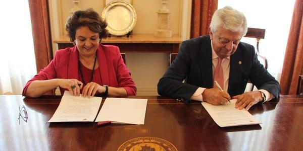 El Ayuntamiento y la Cámara  de Comercio de Sevilla refuerzan la colaboración público-privada para incentivar la creación de empresas del sector aeroespacial