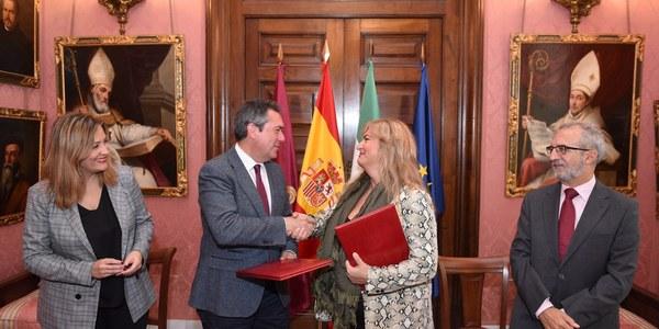 El Ayuntamiento y la Federación de asociaciones de mujeres gitanas firman un convenio de colaboración para impulsar conjuntamente acciones culturales, sociales o de fomento del empleo