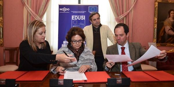 El Ayuntamiento y la Universidad de Sevilla colaboran para diseñar el proyecto piloto de residencia para estudiantes e investigadores en San Jerónimo dentro del programa europeo Edusi