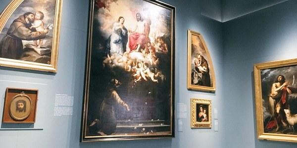 El Bellas Artes inaugura la primera exposición de Año Murillo