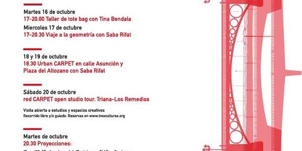 El Centro Cerámica Triana participa en la segunda edición de Red Carpet en su recorrido por espacios creativos, estudios y talleres donde los artesanos realizan su trabajo