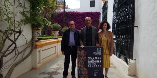 El ciclo 'Noches en los Jardines del Real Alcázar' comienza  el 14 de junio con 75 conciertos hasta el 8 de septiembre haciendo un recorrido por la música de todas las épocas históricas de este espacio