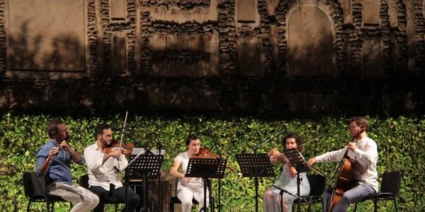 El ciclo Noches en los Jardines del Real Alcázar se adentra en su penúltima semana de conciertos