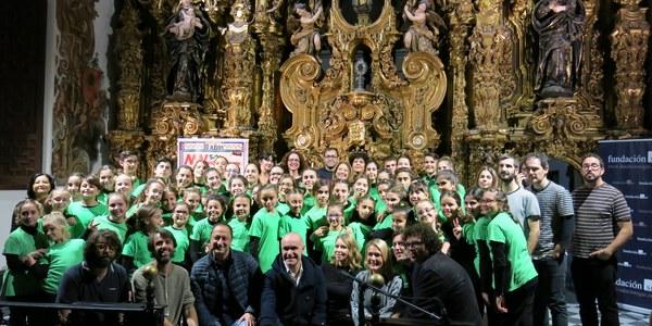 El coro infantil Escuela Coral Jardín Menesteo inaugura el décimo aniversario de Monkey Week Son Estrella Galicia con un concierto en San Luis de los Franceses en el ecuador de la programación del Otoño Cultural