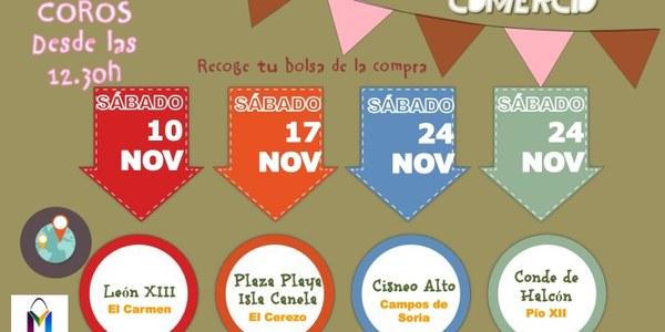 El Distrito Macarena celebra durante el mes de noviembre varias jornadas de animación al comercio de barrio en El Cerezo, Pío XII, El Carmen y Cisneo Alto