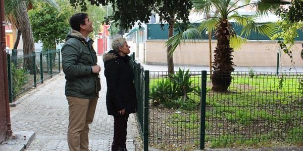 El Distrito San Pablo-Santa Justa culmina las intervenciones previstas en el plan 'Mejora tu Barrio' para eliminar barreras arquitectónicas y remodelar mobiliario urbano