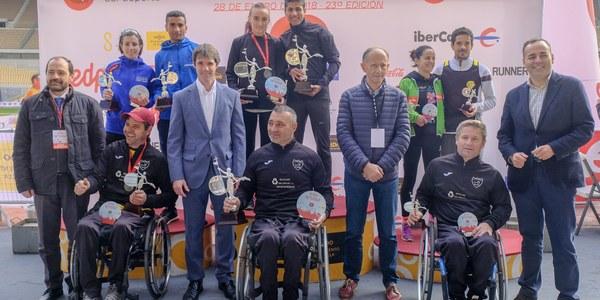 El EDP Medio Maratón de  Sevilla se consolida en el calendario autonómico y  nacional con la participación  récord de 9.000 corredores