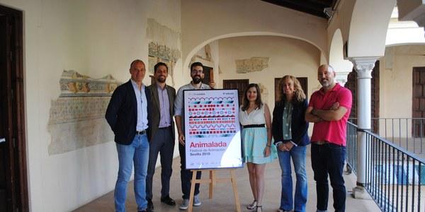 El Espacio Santa Clara acoge la presentación de la VI edición del Festival de Animación de Sevilla Animalada, que se celebrará del 17 al 20 de octubre en la ciudad