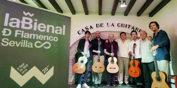 El Espacio Turina será 'El templo de las seis cuerdas' durante la XX Bienal de Flamenco