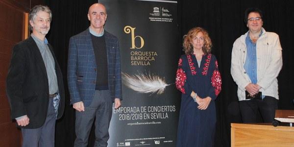 El Espacio Turina y el Teatro de la Maestranza acogerán la programación de la 7ª temporada de la Orquesta Barroca de Sevilla