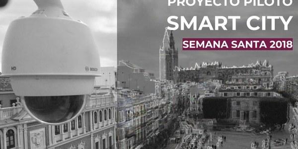 El Estudio Smart City Sevilla contabiliza medio millón de desplazamientos a pie al día en el entorno de la Carrera Oficial durante el arranque de la Semana Santa 2018