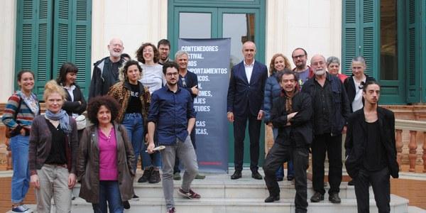 El Festival Contenedores cerrará su 18º edición mañana con una acción en los jardines de la Casa de las Sirenas en la que participarán artistas destacados de la performance