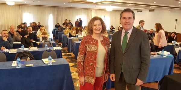 El I Plan Municipal de Prevención del Abandono y el Absentismo Escolar marca el encuentro de la Red de Ciudades Educadoras que se celebra en Sevilla