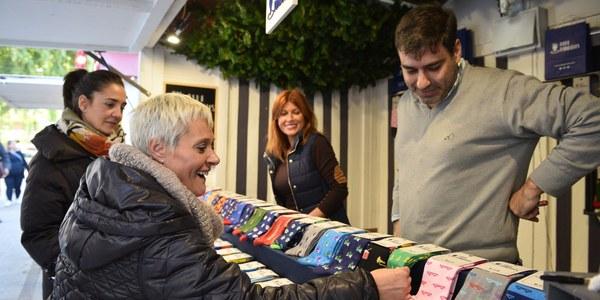 El mercadillo navideño de Nervión estará abierto hasta el próximo 5 de enero
