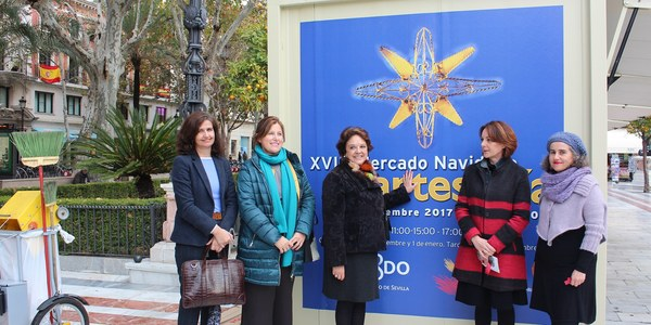El Mercado Navideño de Artesanía abrirá hasta el día 5 de enero en Plaza Nueva con 72 talleres en su  18º edición
