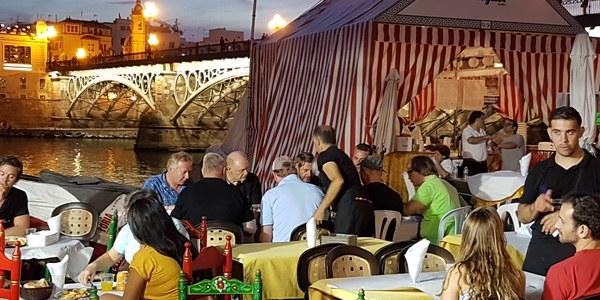 El Muelle de la Sal acoge desde el próximo jueves la segunda edición de la Velá de San Miguel