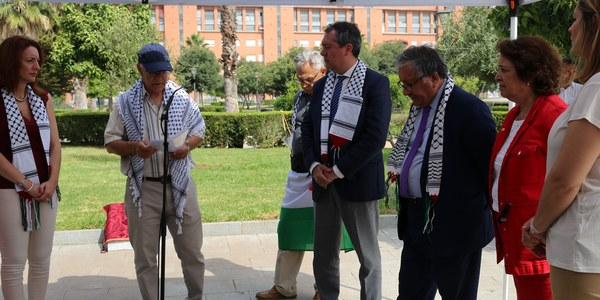 El Parque de los Perdigones acoge la conmemoración del Día de la Tierra Palestina