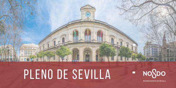El Pleno aprueba aportaciones extraordinarias por un importe de  3,2 millones de euros necesarias  para garantizar la continuidad  del Maestranza y Mercasevilla