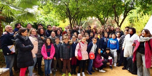 El proyecto Luces de Barrio-Arboleda Digital de iluminación singular integrado en Alumbra desembarca en su tercera edición en cinco colegios sevillanos con una propuesta vinculada a la naturaleza y con Murillo como protagonista