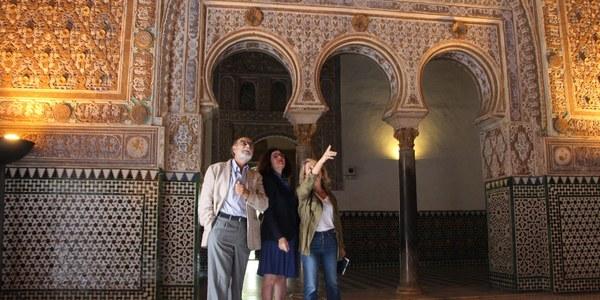 El Real Alcázar acometerá en  2019 trabajos de conservación preventiva del conjunto de las yeserías del Palacio Mudéjar previos a su restauración y  con 76.500 euros de inversión