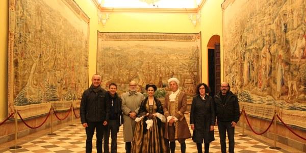 El Real Alcázar inicia mañana un ciclo de visitas teatralizadas sobre Murillo que se prolongará hasta finales de octubre y enriquece la programación oficial del IV centenario del nacimiento del pintor