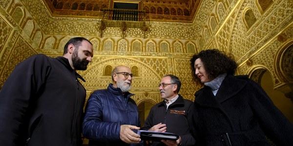 El Real Alcázar renueva la iluminación del Palacio Mudéjar con tecnología LED que permite un ahorro energético del 60%  y una luz neutra que realza  los elementos patrimoniales